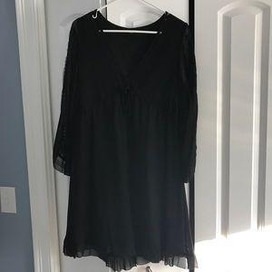 Black Womens dress size L